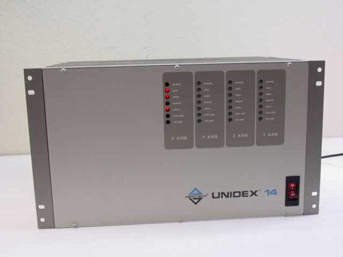 Aerotech Unidex Model 14 One Step Motor Drive with One Card U14R-2-A