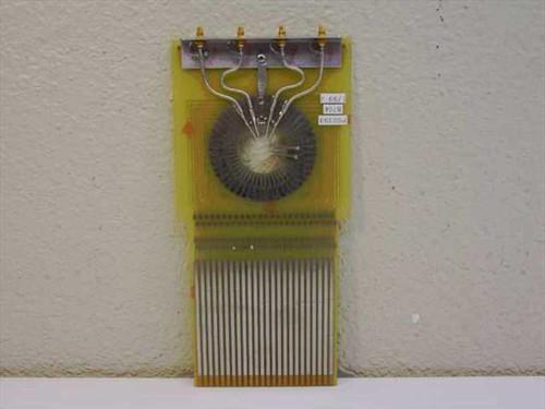 Gold Wire Das Device Probe Card P00393