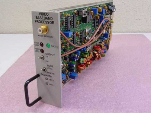 Scientific Atlanta  Video Baseband Processor ~V 7550/55B