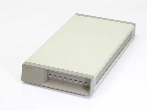 Zenith External 2400 Baud Modem - No AC Adapter ZM2401