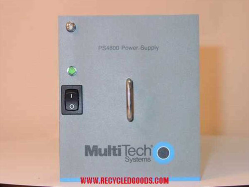 MultiTech System Power Supply for cc4800 Chasis PS4800
