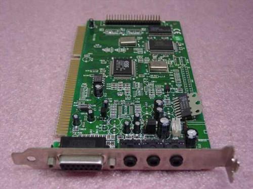 ESS ISA Sound Card 16 Bit ISA with Game Port (ES1868F)