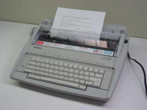 Brother Correctronic Electronic Typewriter - Missing Top P (GX-7750)