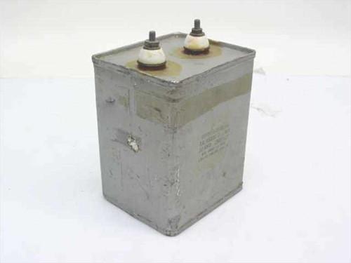 Cornell-Dubilier Oil-filled Capacitor 10.70uF 1.5 kV TJL 15100 G
