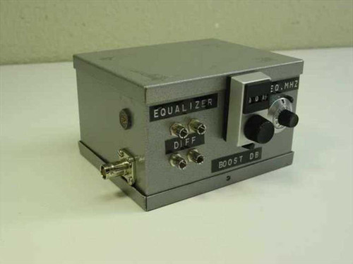 Steel Enclosure Equalizer Opto Coupler, Test Fixture for IC 5x4x3