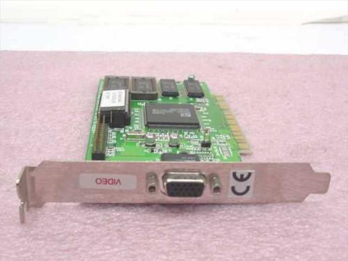 ATI 113-32103-103 Mach64 1MB PCI VGA Video Card 109-32100-20 1023210220
