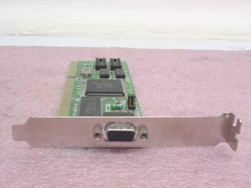 Trident JA-8237A 16-Bit ISA VGA Video Card JA-8237A/V2 JA-8237A/V3 JA-8237A/V4