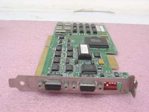 WDC Dual Video Card - 9 pin Digital 15-pin Analog 61-603145