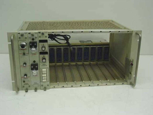 Dunegan-Endevco Card Cage with Model 202A Power Supply 701 302A 303