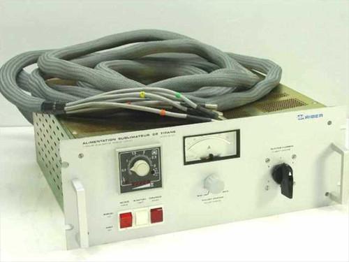 ISA Riber Titanium 6 Filament 60 Amp Sublimator Power Supply Mod 304