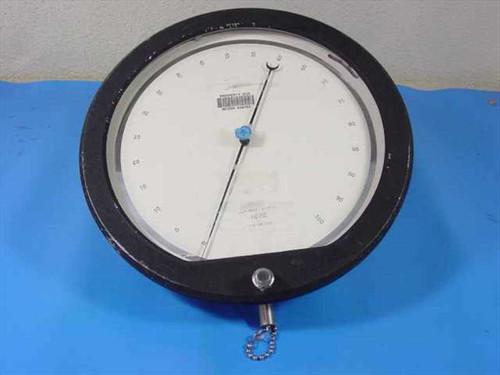 "Heise 0-100 PSI Air Precision Dial Pressure Gauge 13.5"" C-57706"