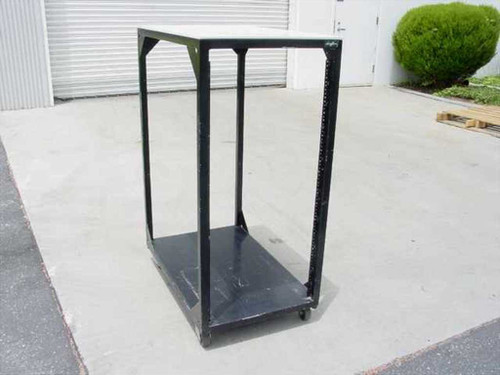 """19"""" Cabinet with wheels 49 Inches High (Rackmount)"""