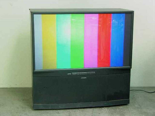 "Mitsubishi 55"" Widescreen Rear Projection TV WS-55809"