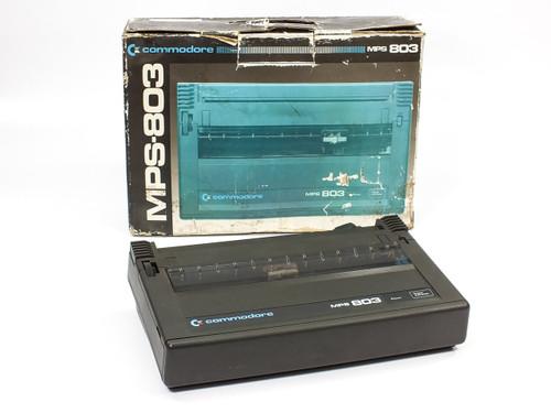 Commodore MPS803 Dot Matrix Printer CBM  - Black with Original Box (MPS-803)