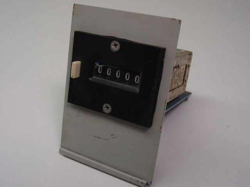 Kessler-Ellis Products Electromechanical Counter 201-291-0550