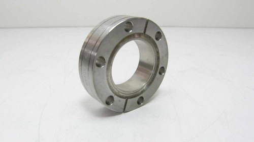 """Varian  Double Sided Vacuum Flange CF 2.75"""" O.D"""