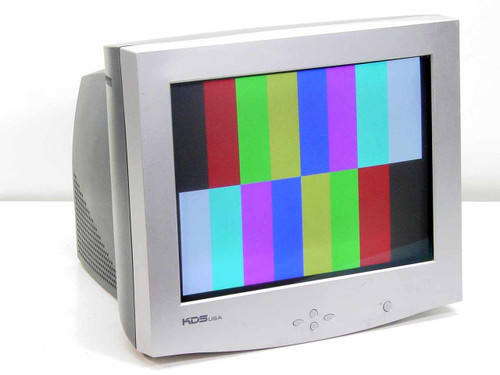 "KDS 17"" CRT Color Monitor XF-7b Series DZ-777NS (786N)"
