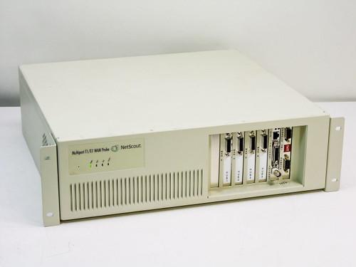 NetScout Four-Port T1/E1 WAN / Ethernet Probe - Untested (8704ET)
