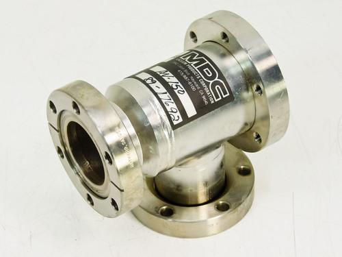 MDC Vacuum Angle T Flange AV 150
