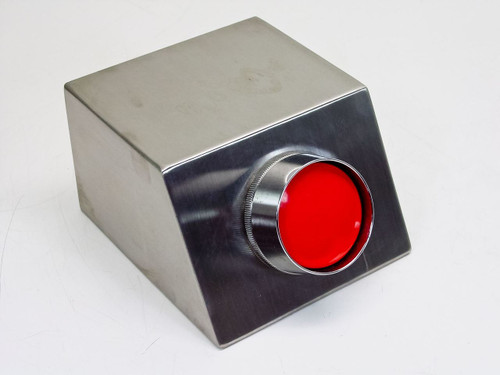 iDec Large Red Pushbutton with Horn in Stainless Enclos (BST-010)