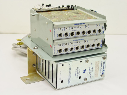 Rockwell Power Supply with 2 Westcom 401 8548-00