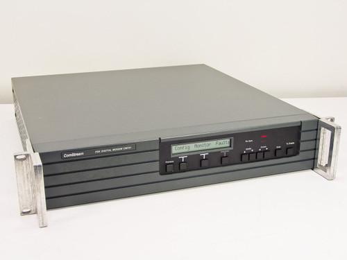 ComStream CM701 PSK Digital Satellite Modem, Doppler Buffer, 140 MHz Modulator
