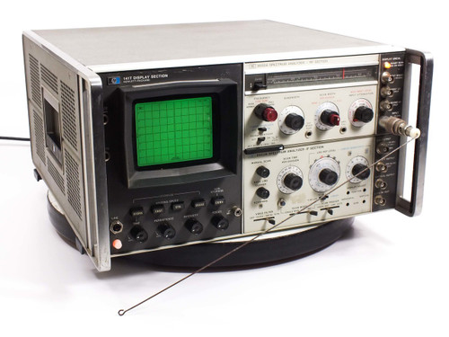 HP Display Section / RF & IF Spectrum Analyzers (141T / 8555A / 8552B)