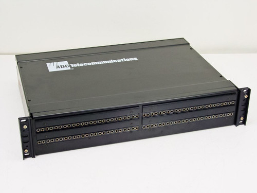ADC Telecommunications Stereo Pro P 2X24 LF 2R Patch Panel PPS3-14MKIINS