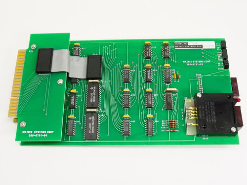 Matrix Systems Corp 6800 Series Decoder Card with Status Monitor 6791B