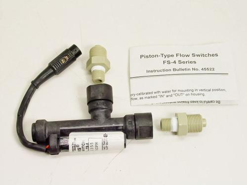 Gems Flow Switch - FS-4, Ryton, SPDT, 0.75 GPM (122355)