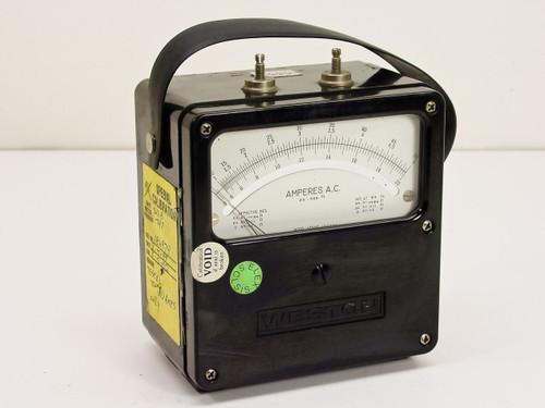 Weston A.C Amperes 25-500 Hz (433)