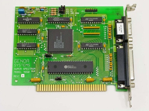 Genoa 4650 Super Spectrum 8-Bit ISA Card