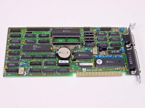 DTK  Multifunction I/O Card Clock Board HEXA I/O PLUS Vintage 1988 286