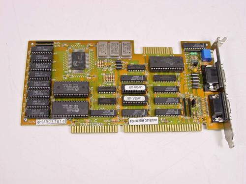 Oak Technology  Dual ISA Video Card 1037162002