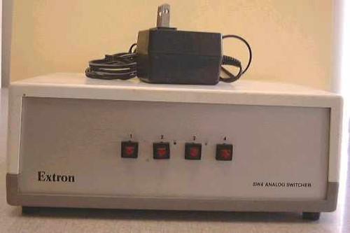 Extron 4 way Analog Video Switcher (SW4)