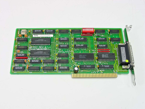 Microtek  ISA 8 Bit DE-25 Serial Card MS-PCY Rev A