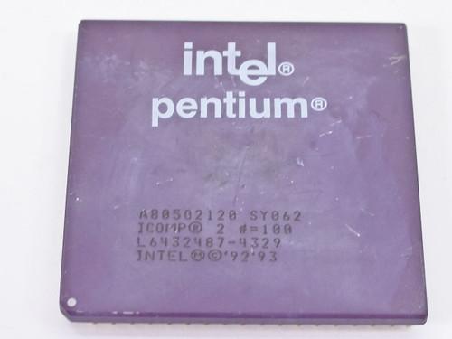 Intel P1 120Mhz Processor - A80502120 (SY062)