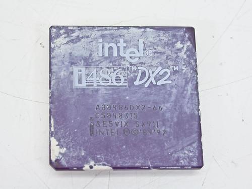 Intel 486DX2/66 Processor A80486DX2-66 (SX911)