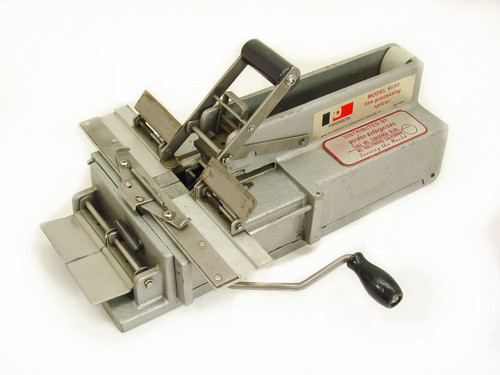 Permacel 9100 Dupage Metal Products Motion Picture Film Processing Splicer