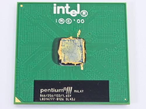 Intel Pentium III 866 MHz (SL43J)
