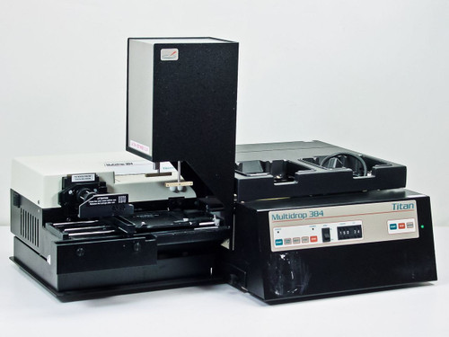 Titertek Titan Microplate liquid handler / dispenser (Multidrop 384)