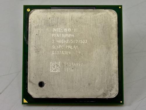 Intel P4 2.4GHz 512KB 533MHz Processor Chip (SL6PC)