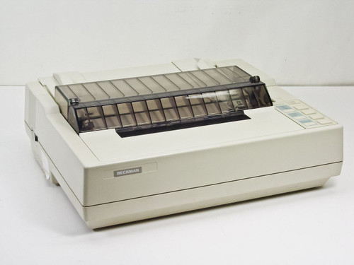 Beckman P82PU Dot Matrix Printer TESTS GOOD - Seiko Epson Japan