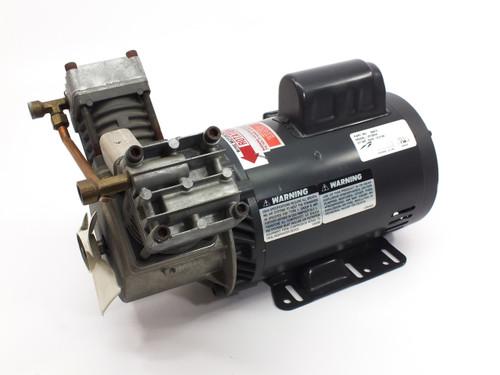 Thomas VX100HA VORTEX Articulating Piston Oil-Less Compressor 1-HP 115/230 VAC (184012)