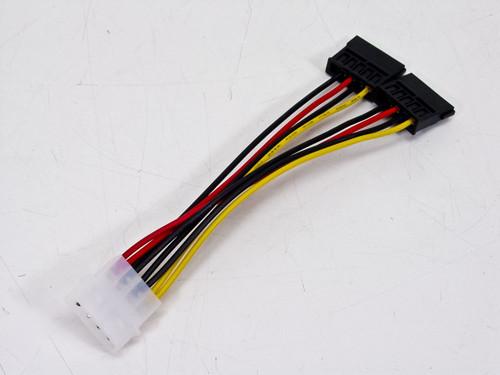 "Dual Standard to SATA Power Adapter (6"")"