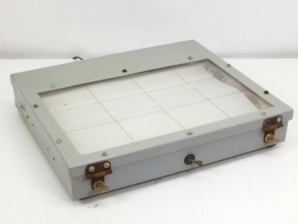 "LCD Florescent Window Lighting Fixture 11"" x 7"" 9000-S6401-73816 (MF-7A)"