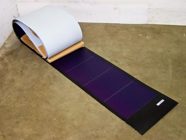 "Uni-Solar PVL-128B 128W 24V Brand New Flexible Amorphous Solar Panel - 4"" Wires"