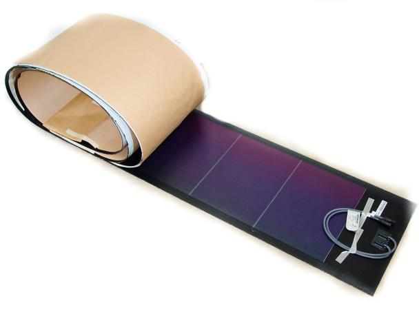 Uni-Solar PVL-128T  128 Watt 24 Volt Brand New Flexible Amorphous Solar Panel