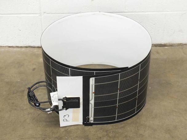 "SoloPower 5' (62.5"") Flexible Thin Solopanel CIGS Solar Panel BIPV - MC4"