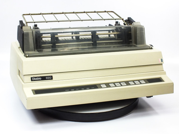 Xerox Diablo 630 Daisy Wheel Printer - Vintage 1982 *No Ribbon* AS-IS